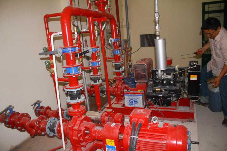 Giảm giá lắp đặt hệ thống cứu hỏa tại Hà Nội