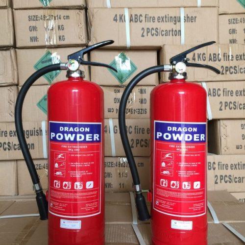 Bình bột chữa cháy 4kg ABC DRAGON POWDER post image