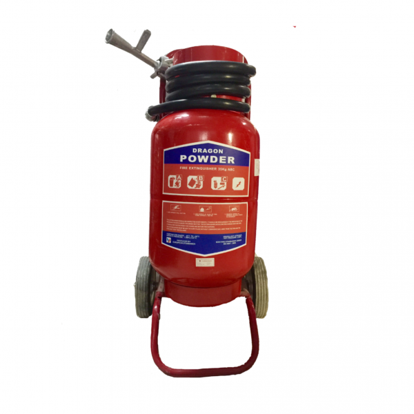 Bình bột chữa cháy xe đẩy ABC 35kg post image