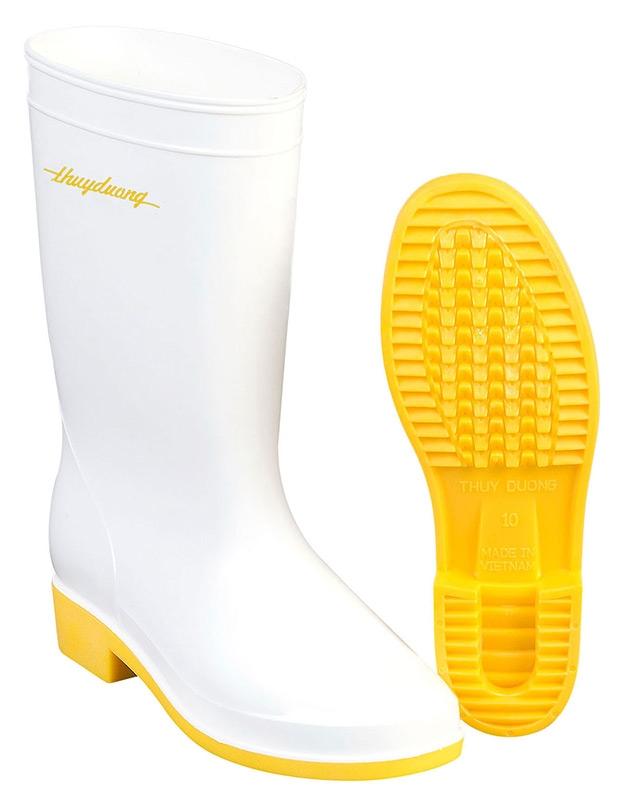 Ủng bảo hộ nhựa 287 (màu trắng vàng) post image