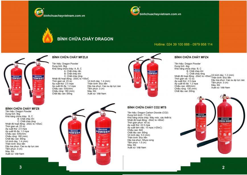 Bán bình chữa cháy Dragon tại Hà Nội thumbnail