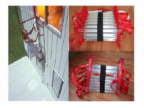 Thang dây cứu hỏa chống cháy inox TDCH03