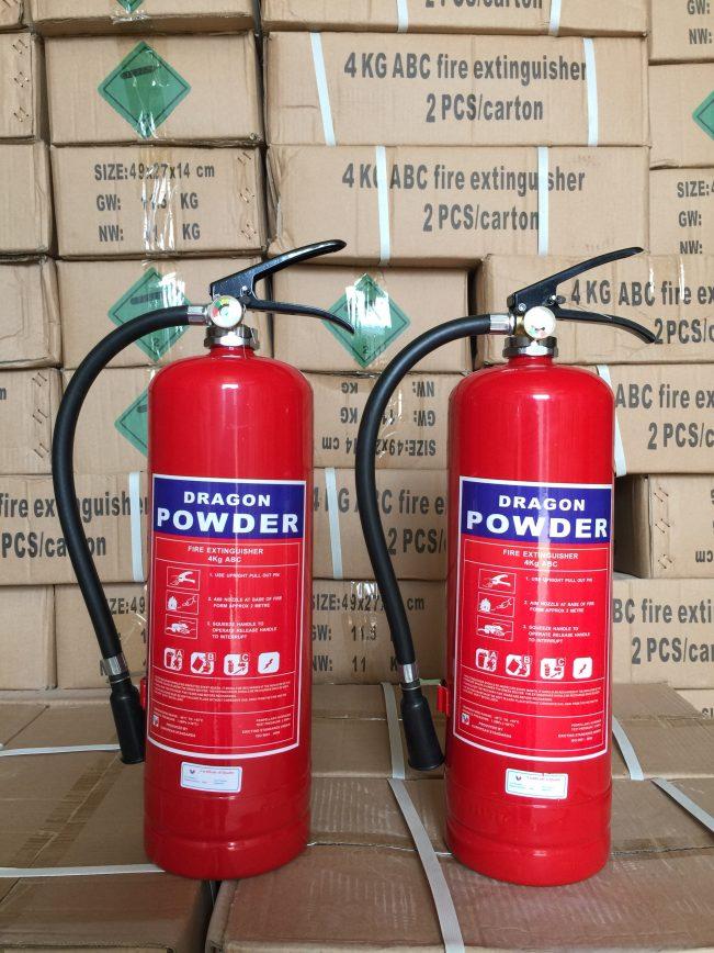 Bình bột chữa cháy 8kg ABC Dragon Powder