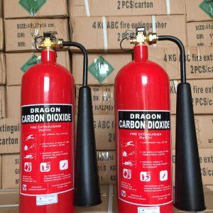 Bình chữa cháy khí CO2 3kg Dragon Powder