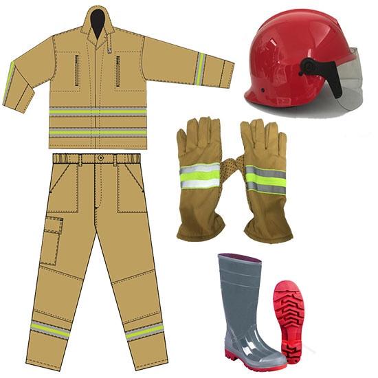 Bộ trang phục chữa cháy theo TT 48/2015