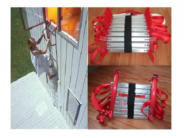 Ưu điểm của thang dây cứu hỏa