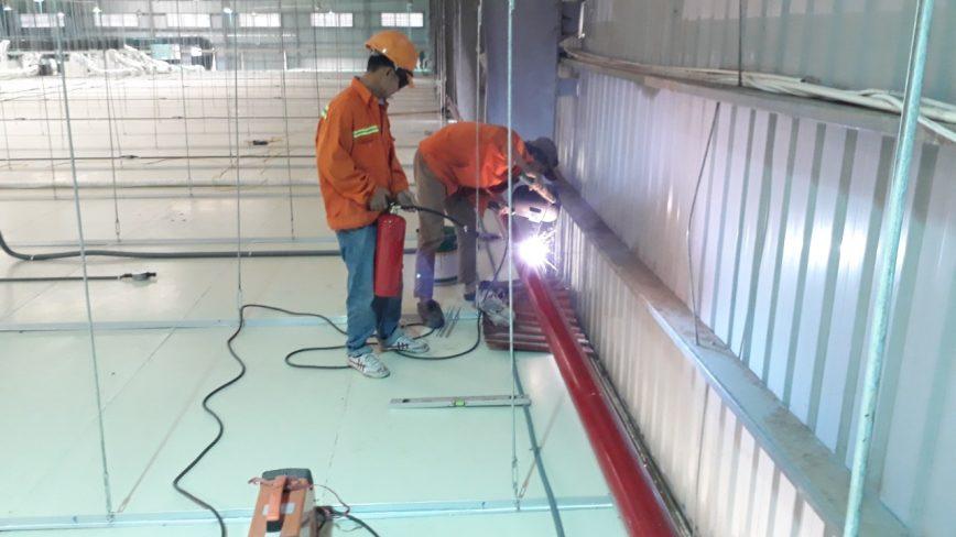 Thi công hệ thống chữa cháy nhà máy sản xuất thumbnail