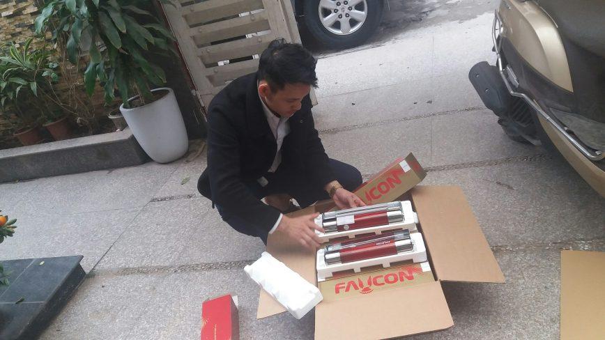 Bán bình chữa cháy Faucon tại Hà Nội thumbnail