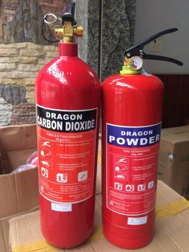 Bình Chữa Cháy Bột Và Khí Co2 Dragon Powder