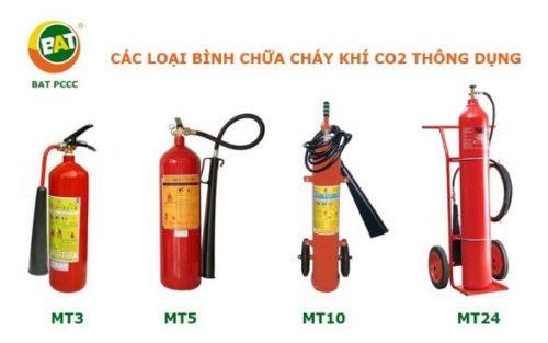 Binh Chua Chay Khi Co2 10kg