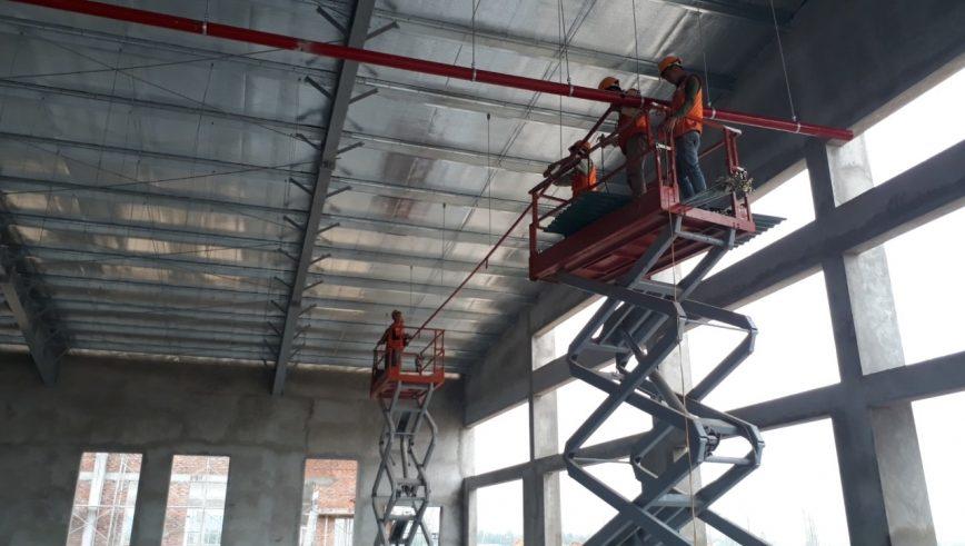 Kỹ thuật lắp đường ống chữa cháy tại nhà xưởng thumbnail