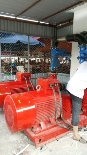 Cung cấp máy bơm chữa cháy Ebara 132KW cho YQ Vina thumbnail