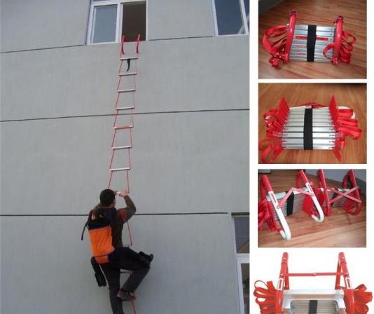 Các lưu ý quan trọng khi sử dụng thang dây cứu hỏa bằng inox