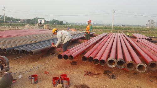 Giai đoạn thi công đường ống chữa cháy thumbnail
