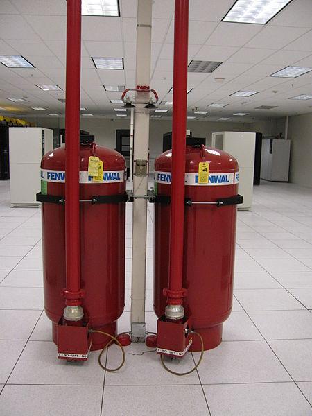 hệ thống 2 bình chứa khí FM200