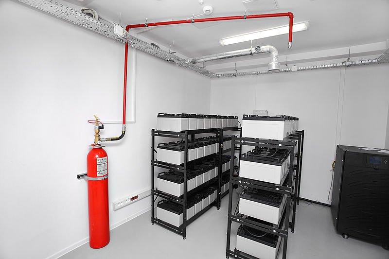 hệ thống chữa cháy khí F200 đơn giản