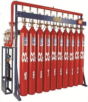Hệ thống chữa cháy tự động bằng khíCO2