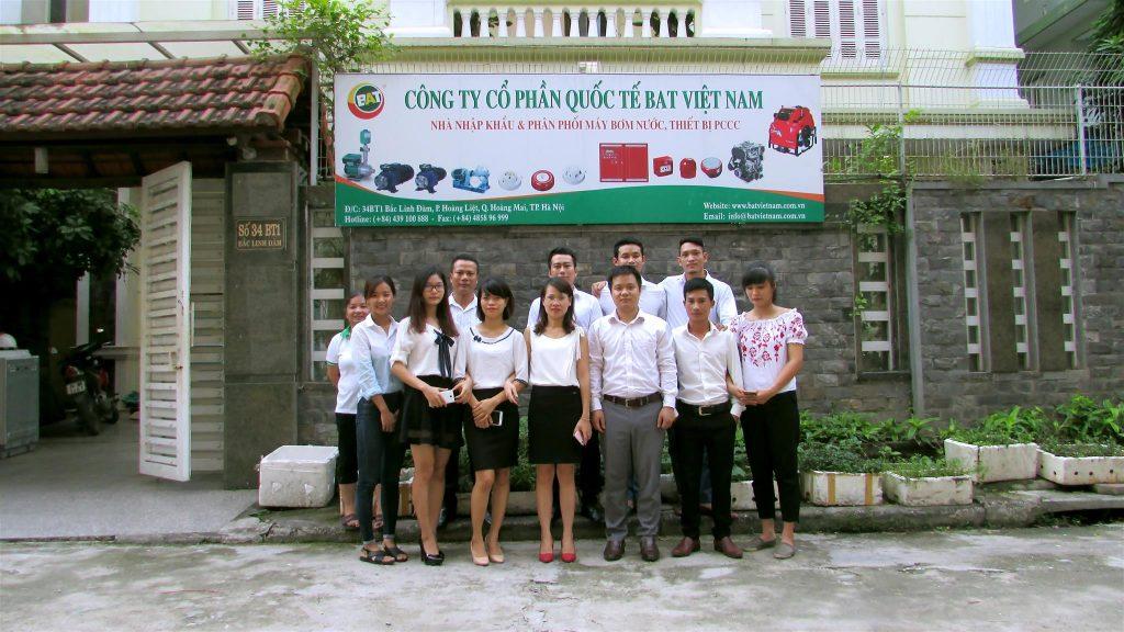 Nhân viên tại BAT Việt Nam