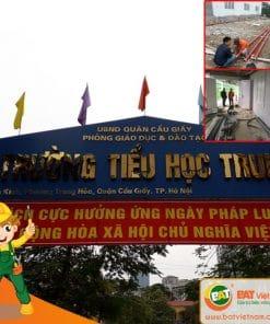 Bảo trì bảo dưỡng PCCC cho trường học Quận Cầu Giấy Hà Nội