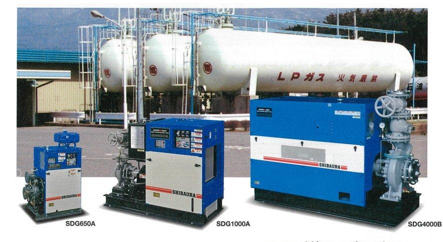 Máy bơm an toàn động cơ diesel SDG series