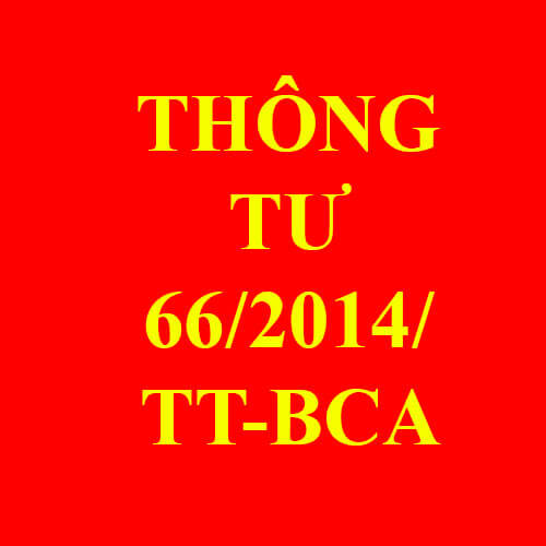 Thong Tu 66 2014 Tt Bca