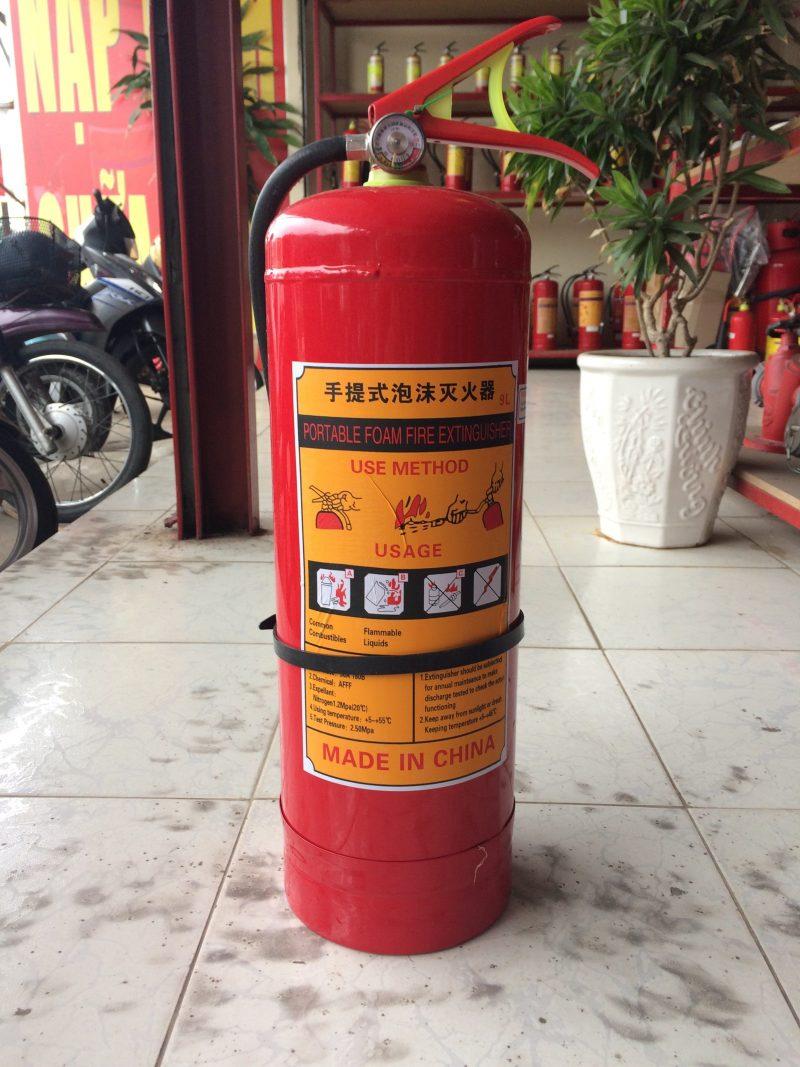 Binh Chua Chay Bot Foam