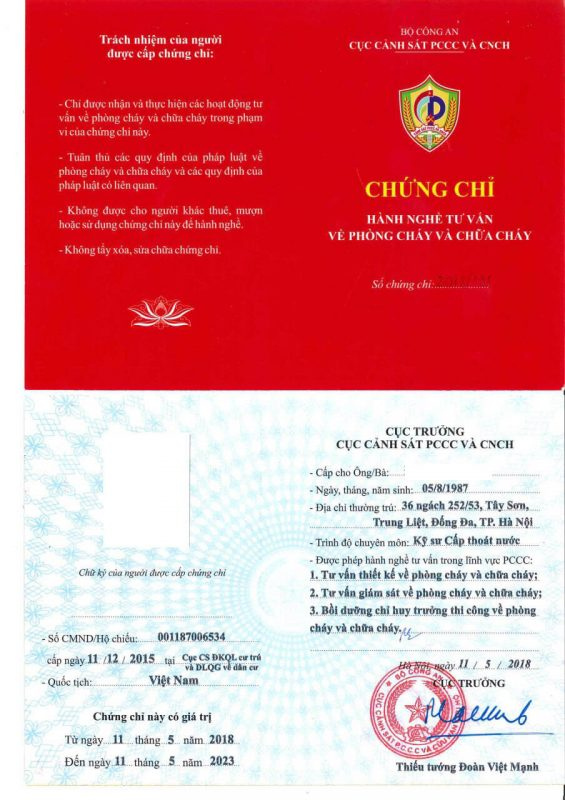Chung Chi Hanh Nghe Pccc