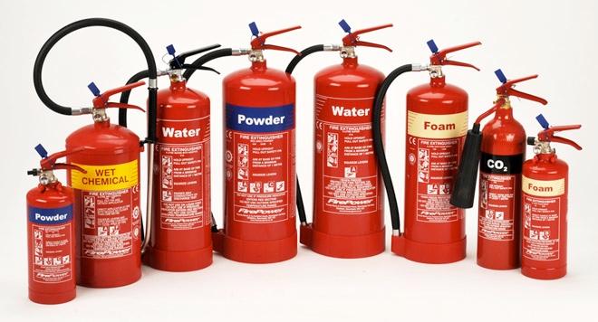 Các loại bình cứu hỏa