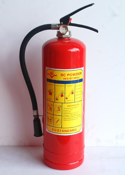 Hình ảnh bình bột chữa cháy BC