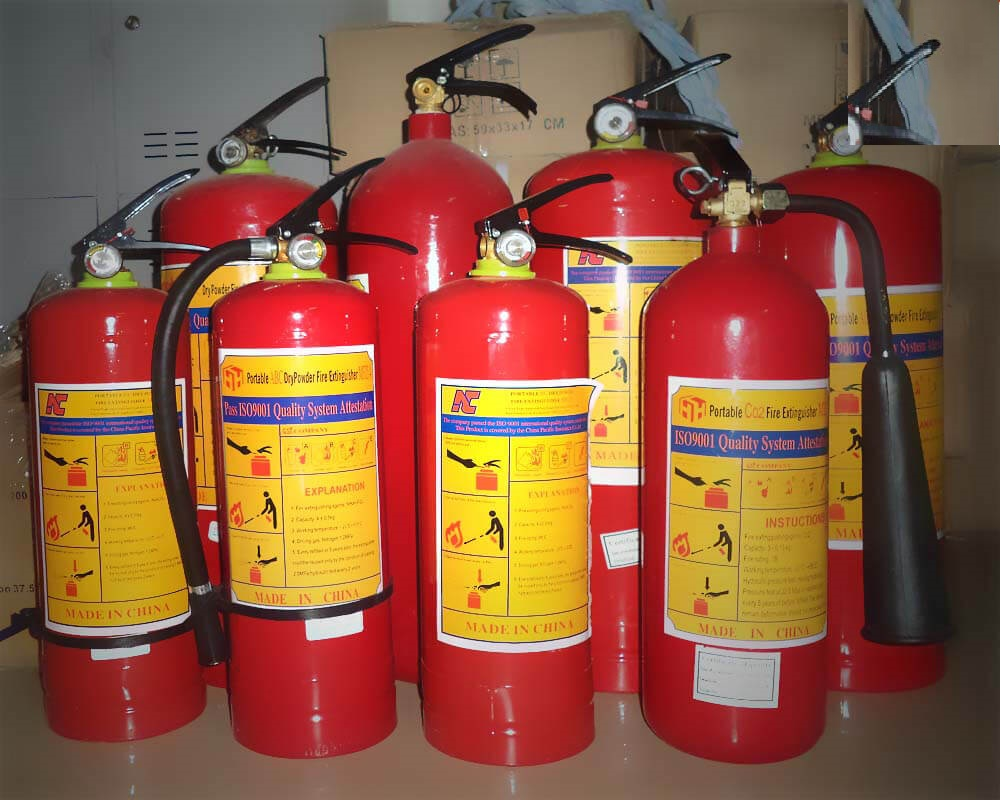 Cách bảo quản bình cứu hỏa