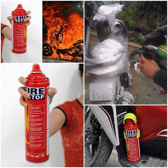 Bình cứu hỏa mini Fire Stop nhỏ gọn, tiện lợi