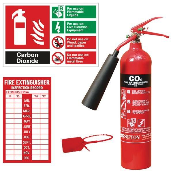 Một số lưu ý khi sử dụng bình cứu hỏa CO2