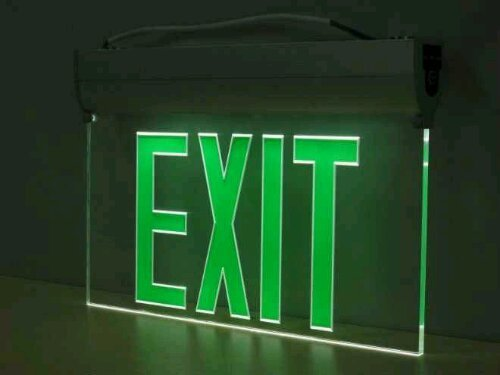Hình ảnh đèn thoát hiểm