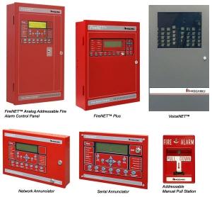 Hình ảnh các tủ trung tâm báo cháy thường