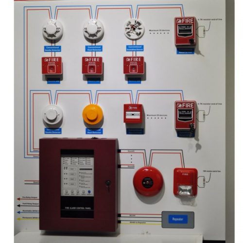 Fire Protection Conventional Fire Alarm System With Fire Alarm Control Panel