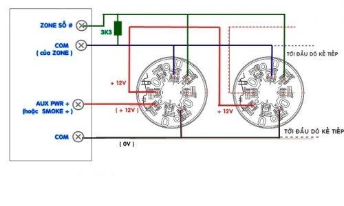 Nguyên lý hoạt động của đầu báo nhiệt cố định Horing AH-9920