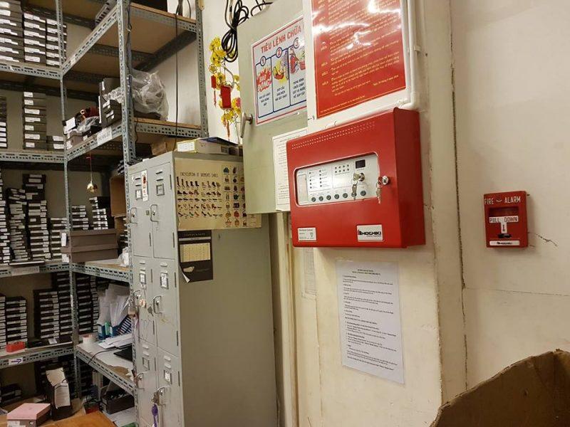 Màn hình hiển thị trung tâm báo cháy Hochiki