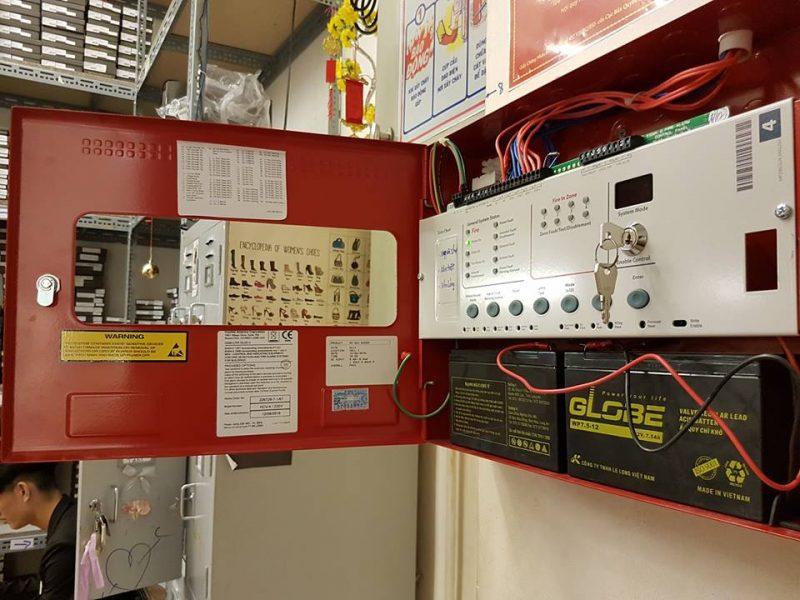Nguyên lý hoạt động của tủ trung tâm báo cháy Hochiki HCV 8-UK