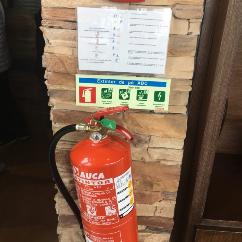 Bình chữa cháy khác nhau sẽ chữa những đám cháy khác nhau