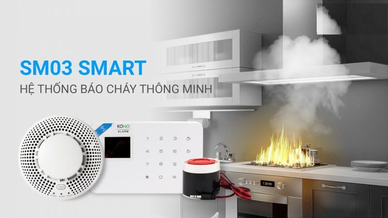 Hệ thống báo cháy thông minh SM03 smart