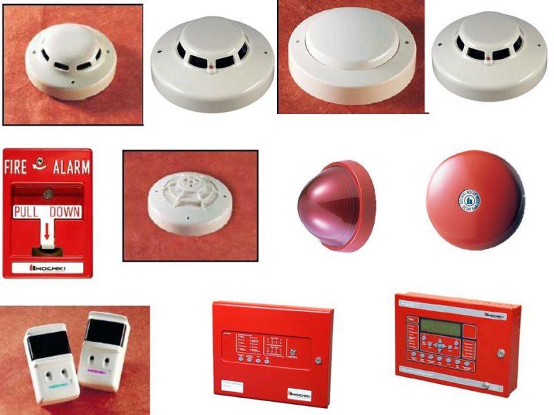 Các thiết bị báo cháy của Hochiki