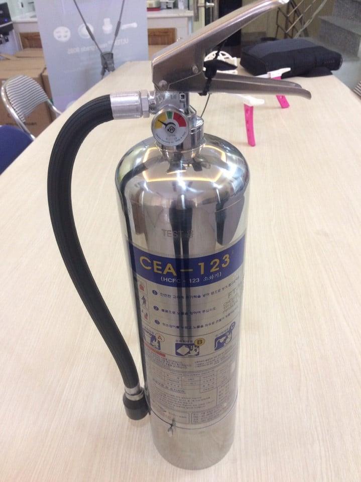 Bình cứu hỏa bằng khí sạch HCFC