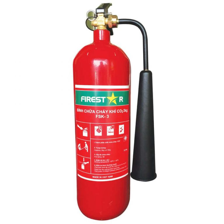 Bình chữa cháy firestar dạng khí