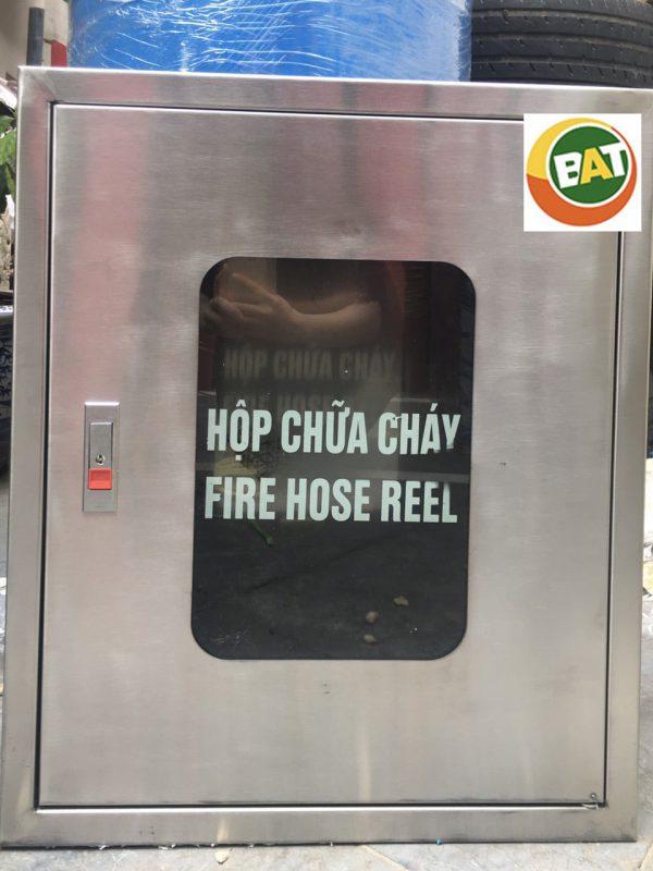 Tủ đựng bình chữa cháy bằng inox