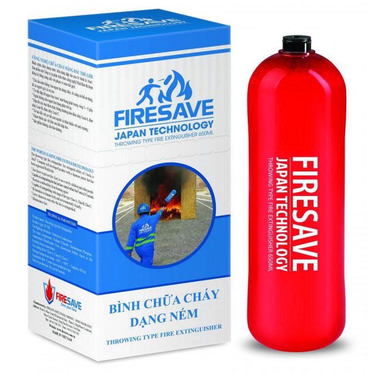 Bảo Quản Bình Cứu Hỏa Dạng Ném đúng Cách