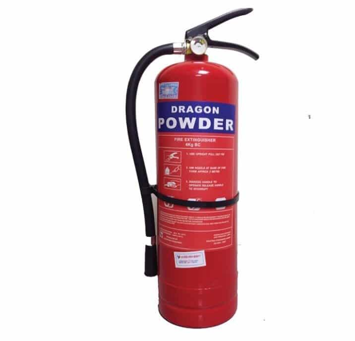 Bình cứu hỏa Dragon Powder Mfzl4 Bột Abc 4kg