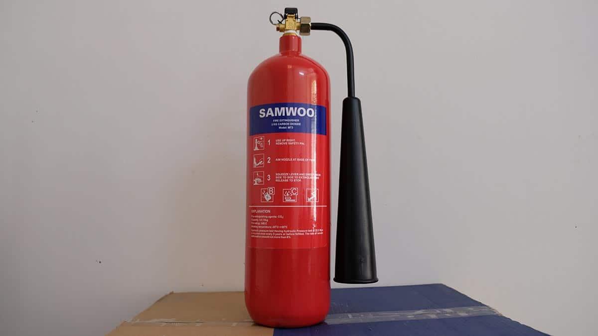 Bình Chữa Cháy Khí Co2 Mt3 Samwoo
