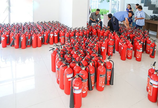 Hướng dẫn sử dụng bình cứu hỏa Firestar